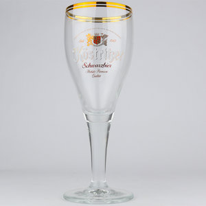 Köstritzer Schwarzbier Voetglas 30cl