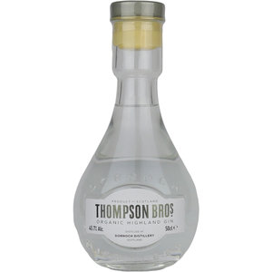 Thompson Brothers Organic Highland Gin 50cl