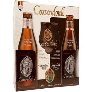 Bierpakket Corsendonk 2x33cl met glas