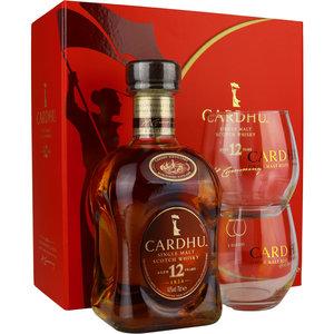 Cardhu 12 Years 70cl met 2 glazen GV