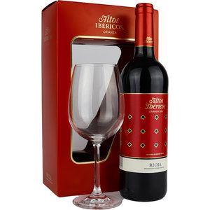 Altos Ibericos Crianza 75cl met Wijnglas