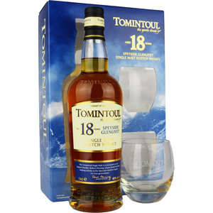 Tomintoul 18 Years Gift Pack 70cl