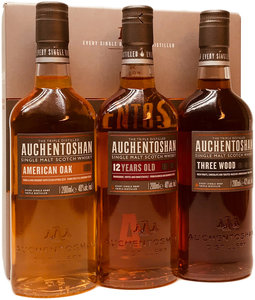 Whisky Auchentoshan Ultimate Collection 3x200ml GV