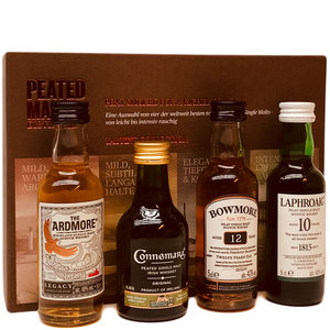 Peated Malts of Distinction 4x50ml GV