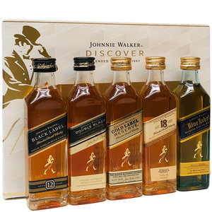 Johnnie Walker Discover 5x50ml GV