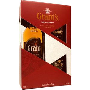 Grant's met glazen 70cl GV