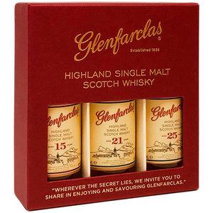 Glenfarclas 15Y 21Y 25Y 3x50ml GV