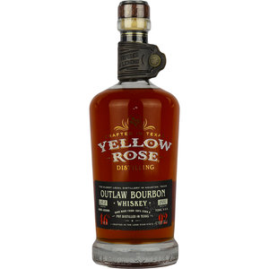 Yellow Rose Outlaw Bourbon Whiskey 70cl