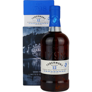 Tobermory 12 Years Port Pipe Finish 70cl