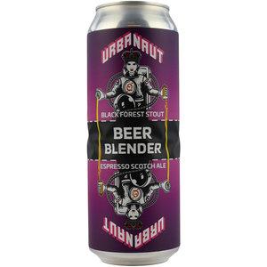 Urbanaut Black Forest Stout / Espresso Scotch Ale Beer Blender Blik