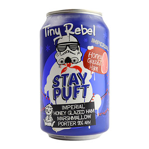 Tiny Rebel Stay Puft Imperial Honey Glazed Ham Marshmallow Porter Blik