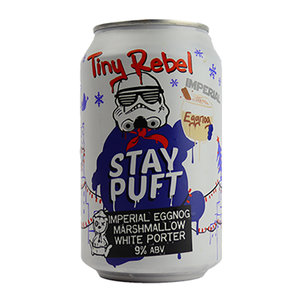 Tiny Rebel Stay Puft Imperial Eggnog Marshmallow White Porter Blik