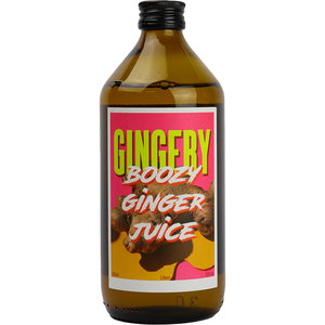 Gingery Boozy Ginger Juice 50cl