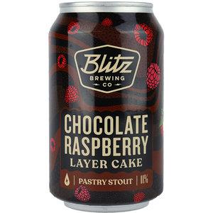 Blitz Chocolate Raspberry Layer Cake Blik