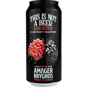 Amager This Is Not A Beer Hard Seltzer Raspberry and Blackberry Blik