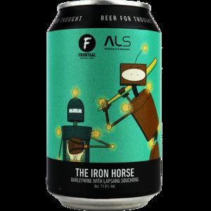 Frontaal The Iron Horse Blik