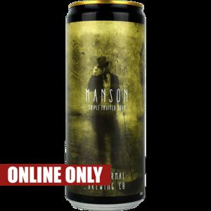 Paranormal x Dry & Bitter Brewing Manson Blik
