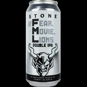 Stone Fear. Movie. Lions Double IPA Blik