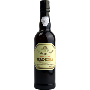 Welsh Brothers Madeira Medium Dry 37.5cl