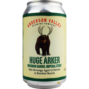 Anderson Valley Huge Arker Bourbon Barrel Imperial Stout Blik
