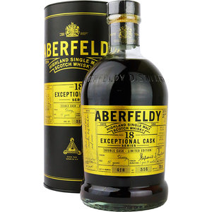 Aberfeldy 18 Years Exceptional Cask Series 70cl