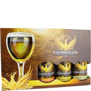 Bierpakket Grimbergen met Glas