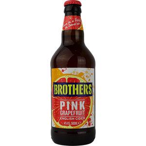 Brothers Pink Grapefruit English Cider