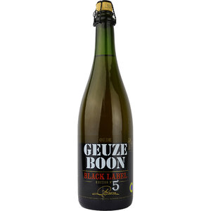 Boon Oude Geuze Black Label Edition No 5 75cl
