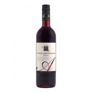 Ambrosia Honing-kruidenwijn Rood 75cl
