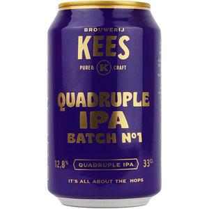 Kees Quadruple IPA Batch No 1 Blik