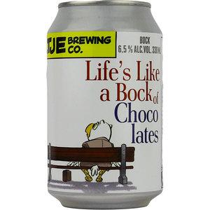 Uiltje Life's Like a Bock of Chocolates Blik