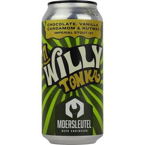 Moersleutel Willy Tonka Chocolate Vanilla Cardamom & Nutmeg Blik