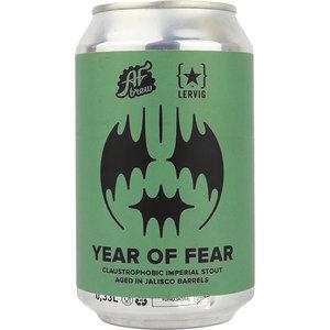 AF Brew x Lervig Year Of Fear Jalisco Tequila BA