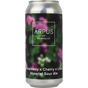 Arpus Raspberry x Cherry x Lime Imperial Sour Ale Blik