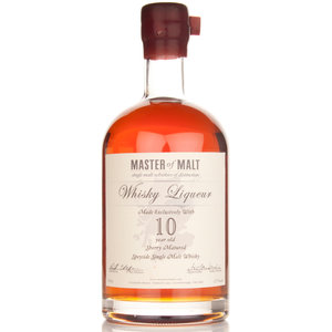 Master of Malt Whisky Liqueur 10 Years 70cl