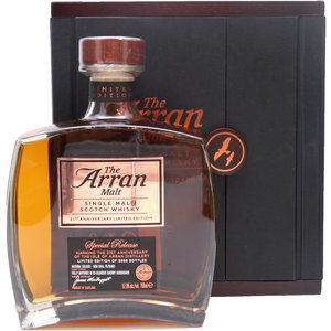 Arran 21st Anniversary Limited Edition 70cl