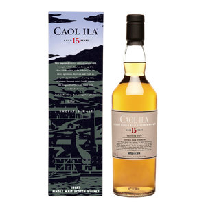 Caol Ila 15 Years Old Unpeated Malt 70cl