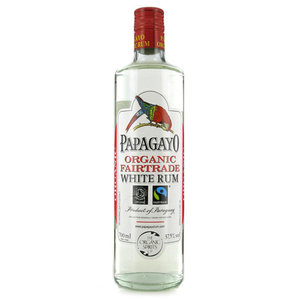 Papagayo Organic White Fairtrade Rum 70cl