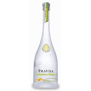 Pravda Citron Vodka 70cl
