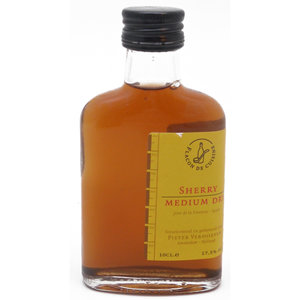 Sherry Medium Dry Keukenflesje 10cl