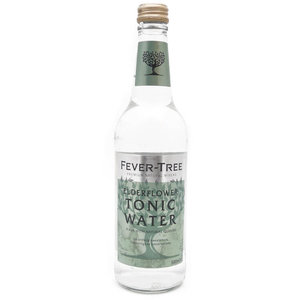 Fever-Tree Elderflower Tonic Water 50cl