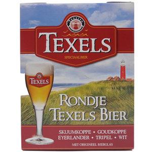 Bierpakket Rondje Texels Bier met Glas