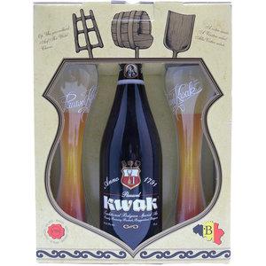 Bierpakket Kwak 75cl met Glazen