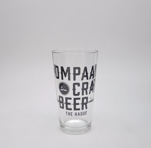 Kompaan Craft Beer Bekerglas