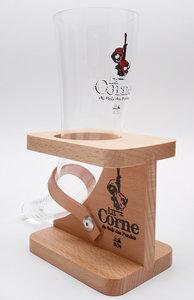 La Corne Hoornglas met houder