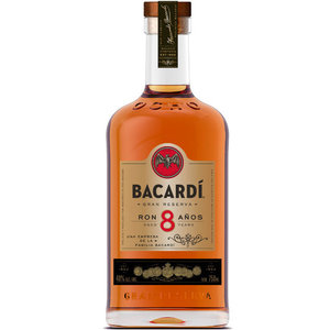Bacardi Ron 8 Anos 100cl