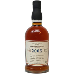 Foursquare 2005 Single Blended Rum 70cl
