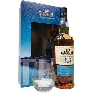 Glenlivet Founder's Reserve 70cl met glazen GV