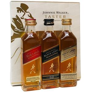 Johnnie Walker Taster 3x50ml GV