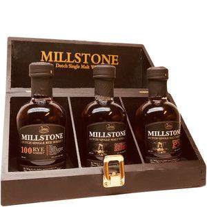 Millstone Single Malt 3x200ml Geschenkkistje